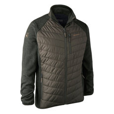 KURTKA MOOR PADDED JACKET w.KNIT