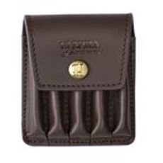ETUI NA NABOJE RIFLECART. COVER IN LEATHER BROWN F5