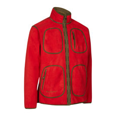 KURTKA DWUSTRONNA  GAMEKEEPER BOND  FLEECE JACKET RED