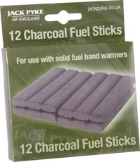 LASKI WĘGLOWE CHARCOAL FUEL STICKS X12