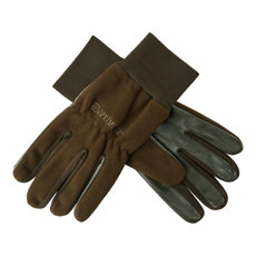 RĘKAWICE FLEECE GLOVES W.LEATHER