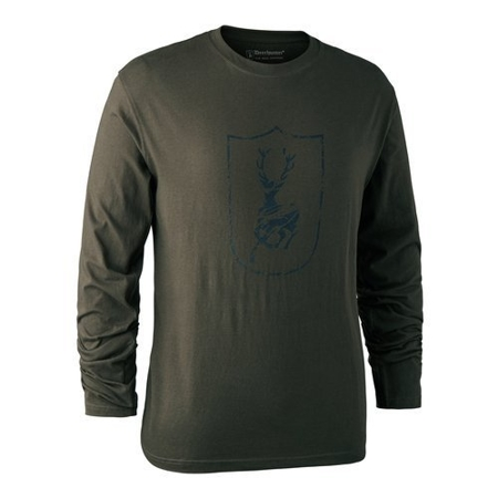 Koszulka LOGO SHIELD T-SHIRT L/S W.DEERHUNTER