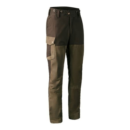 SPODNIE MARSEILLE LEATHER MIX TROUSERS